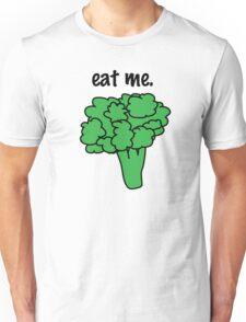 eat me. (broccoli) Unisex T-Shirt