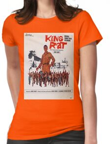 King Rat (1965 movie soundtrack album cover) Womens Fitted T-Shirt