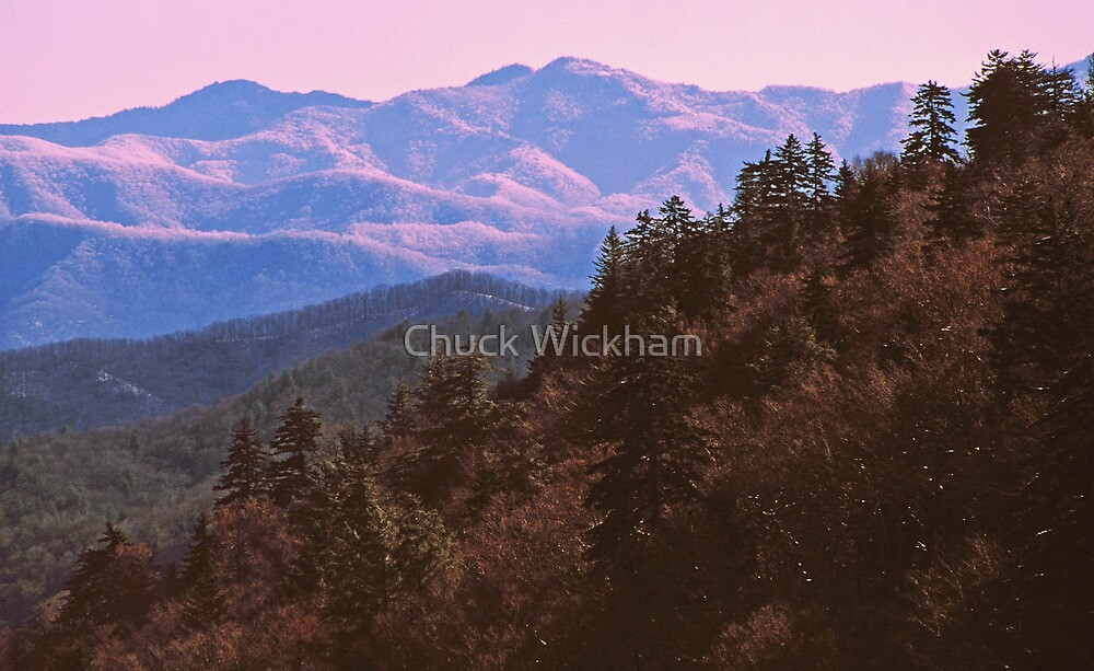 SMOKY MOUNTAIN WINTER by Chuck Wickham