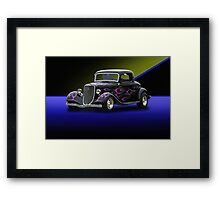1934 Ford 3-Window Coupe Framed Print