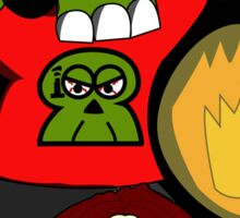 Zombie 006: Stumby the Screwball Sticker