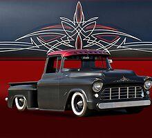 1956 Chevrolet Custom Pick-Up by DaveKoontz