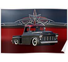 1956 Chevrolet Custom Pick-Up Poster