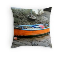 High and Dry. Throw Pillow
