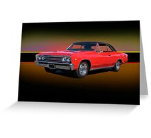 1967 Chevrolet Chevelle 327 Greeting Card