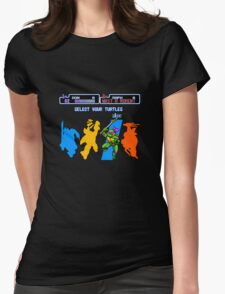 Turtles in Time - Donatello Womens Fitted T-Shirt