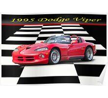 1995 Dodge Viper w/ ID Poster