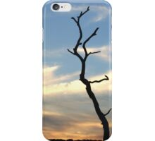 tree at sunset iphone cover iPhone Case/Skin
