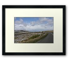 Stark Beauty: The Burren in County Clare, Ireland Framed Print