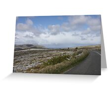 Stark Beauty: The Burren in County Clare, Ireland Greeting Card