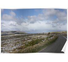 Stark Beauty: The Burren in County Clare, Ireland Poster