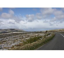 Stark Beauty: The Burren in County Clare, Ireland Photographic Print