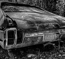 Forgotten Oldsmobile in Fox Hill Village, The Bahamas by Jeremy Lavender Photography