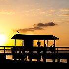Sunset on Sanibel Island Florida by Edward Fielding