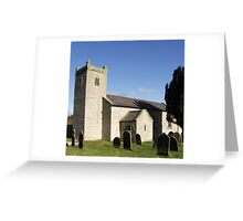 St Michael's Church, Cold Kirby Greeting Card