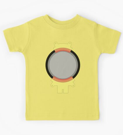 Hoverboard Yellow Radiation Suit Kids Tee