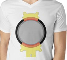 Hoverboard Yellow Radiation Suit Mens V-Neck T-Shirt