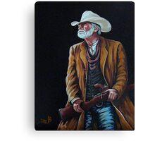 Big Swede~ The Gunslinger Canvas Print