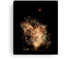 Up close and celebrate! Canvas Print