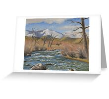 Winter Dorostkar Park (Plein-air Study) Greeting Card