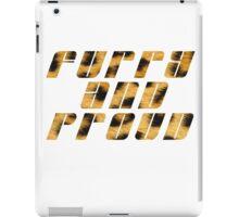 Furry And Proud - Leopard Fur iPad Case/Skin