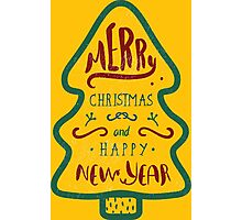 Christmas & New Year Photographic Print