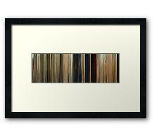 Moviebarcode: Seven Psychopaths (2012) Framed Print