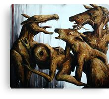 Horn Lake: Exile of the Second Coming (Large Scale Acrylic) Canvas Print