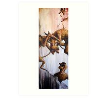 Horn Lake: Aquarium (Large Scale Acrylic) Art Print