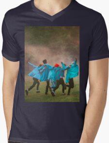 BIGBANG SOBER Mens V-Neck T-Shirt