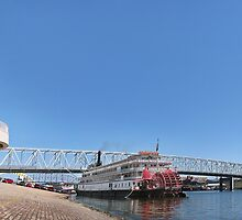 Cincinnati Riverfront  by Alex Preiss