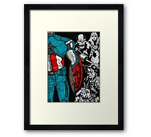 Captain America: The Winter Soldier Framed Print