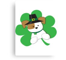 Irish Puppy Canvas Print