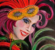 Mardi Gras Masker #1 by tsita13