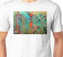 Flaking Paint on Rust Unisex T-Shirt