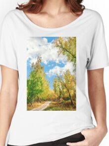 Rest beside the path Women's Relaxed Fit T-Shirt