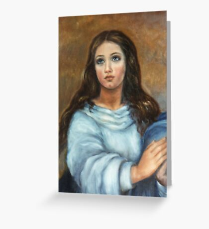 Mary - Assumption Greeting Card