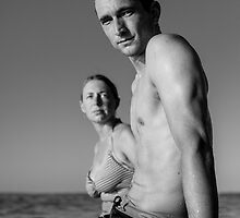 Yann an Aurelie 2 by Keith Hamlyn