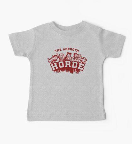 Team Horde  Baby Tee