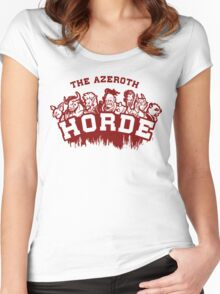 Team Horde  Women's Fitted Scoop T-Shirt