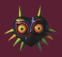 Majora's Mask Pixelation by hoplessmufasa
