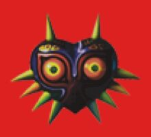 Majora's Mask Pixelation Kids Clothes