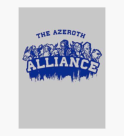 Team Alliance Photographic Print