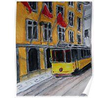 #28 tram - Lisboa - Portugal Poster