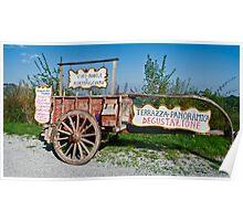 Terrazza Panoramica Poster