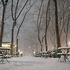 Winter Wonderland - Bryant Park - New York City by Vivienne Gucwa