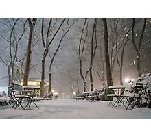 Winter Wonderland - Bryant Park - New York City Photographic Print