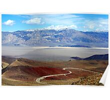 Highway 190, California Poster