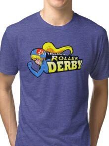 Tallon IV roller derby Tri-blend T-Shirt