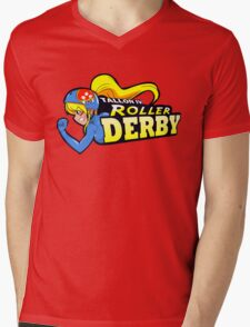 Tallon IV roller derby Mens V-Neck T-Shirt